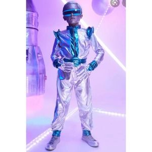Light Up Space Suit Boys by Chasing Fireflies Sz 12
